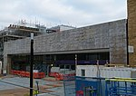 2018 Woolwich Crossrail Station construction site 21.jpg