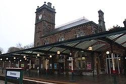 2018 at Ulverston station - platform 1.JPG