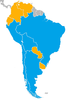 2019 South American Beach Soccer League map of nations (2).png