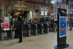 2019 at Bristol Temple Meads - ticket gate (main).JPG