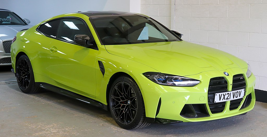 2021 BMW M4 Competition Automatic 3.0 Front