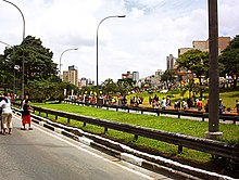 20931e6f2 º aniversário da cidade, a Vinte e Três de Maio foi fechada aos veículos