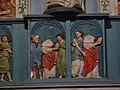 266.Guimiliau.Eglise.Statues.St-Milliau portant sa tête.JPG