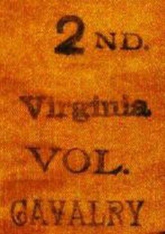 2nd West Virginia Volunteer Cavalry Regiment - Image: 2nd VA Cav Ribbon