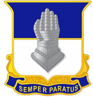 320th Cavalry Regiment (United States) - Image: 320th Cavalry Regiment DUI