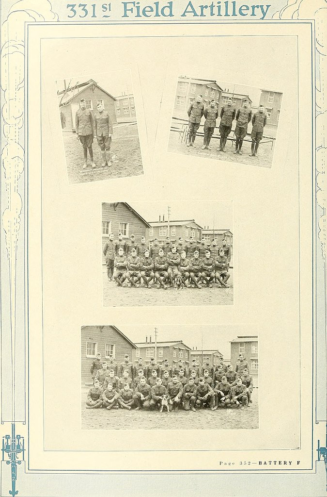 File 331st Field Artillery United States Army 1917 1919