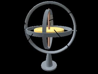 Gyroscope - A gyroscope