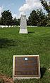 3rd Infantry Memorial - plaque and pylon - Arlington National Cemetery - 2011.JPG