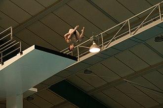 Scott Robertson (diver) - Inward 3 1/2 Tuck - 10m