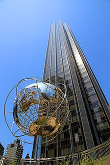 The Trump International Hotel and Tower al Columbus Circle.