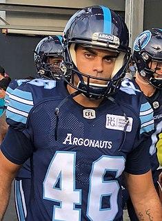 Zackary Medeiros Professional Canadian football kicker
