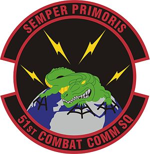 5th Combat Communications Group - Image: 51st Combat Communications Sq, color