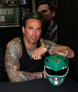 Jason David Frank - Frank at the 2013 Wizard World New York Experience in Manhattan