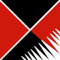 600px Nero e Rosso incrociati listati di Bianco.PNG