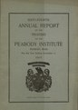 64th Peabody Institute Library Annual Report 1915 (IA 64thPeabodyInstituteLibraryAnnualReport1915).pdf