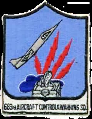 683d Aircraft Control and Warning Squadron - Emblem of the 683d Aircraft Control and Warning Squadron