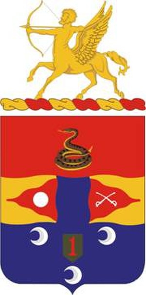 6th Field Artillery Regiment - Coat of arms