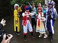 6 cosplayers of Chūka Ichiban! at CWT50 20181209a.jpg