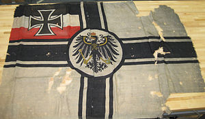 Reichskriegsflagge - An original World War I German war ensign