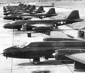 7407th Support Squadron RB-57A-1 1956.jpg
