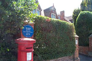 Oxford English Dictionary - The 78 Banbury Road, Oxford, house, erstwhile residence of James Murray, Editor of the Oxford English Dictionary