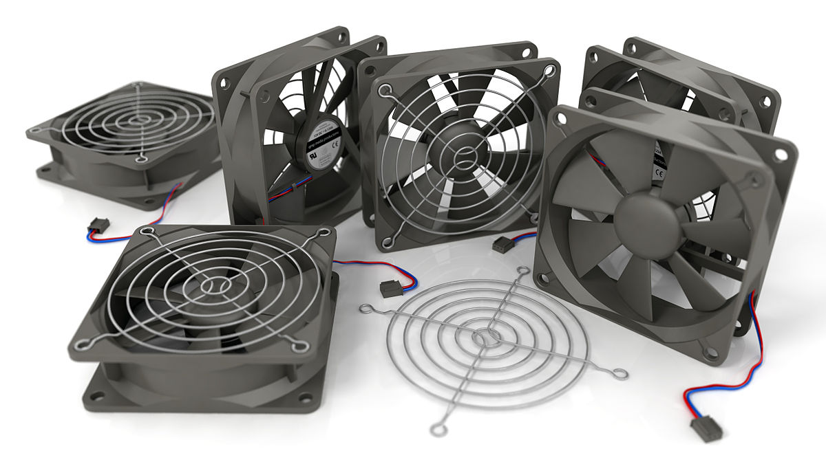 puter fan on commercial blower motor