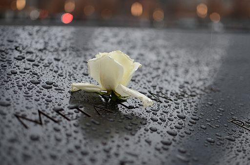 911 Memorial flower