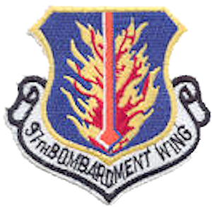 Eaker Air Force Base - Emblem of the 97th Bombardment Wing, 1959–1992