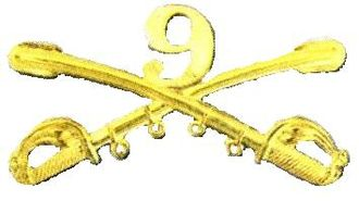 9th Cavalry Regiment (United States) - 9th Cavalry insignia