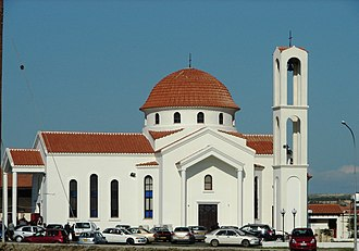 Livadia, Larnaca - Image: A@a Agios Savvas Church Livadia Larnaca Cyprus panoramio