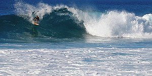 Waimea Bay, Hawaii - Winter surfer, 2007