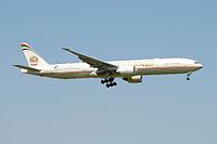 A6-ETO - B77W - Etihad Airways