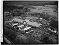 AERIAL VIEW OF LUMBER MILL - Deposit Lumber Company Mill, Borden Street, Deposit, Broome County, NY HAER NY,4-DEPO,6-1.tif