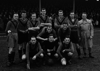 Amsterdamsche FC - The first squad of Amsterdamsche FC in 1949