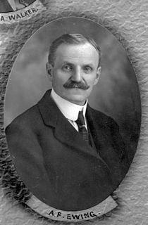 Albert Ewing Canadian politician