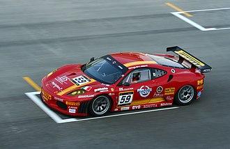 AF Corse - One of AF Corse's Ferrari F430 GT2s