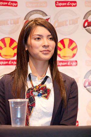 Sayaka Akimoto - Sayaka Akimoto at the Japan Expo 2009 in Paris, France