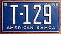 AMERICAN SAMOA 1966 TRUCK license PLATE - Flickr - woody1778a.jpg