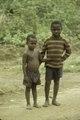 ASC Leiden - F. van der Kraaij Collection - 01 - 012 - Two small children alongside a road - Montserrado County, Liberia, 1976.tiff