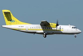 Mistral Air - A former Mistral Air ATR 42-300