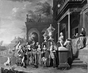A Musical Gathering at the Court of the Elector Karl Albrecht of Bavaria