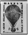 A grand balloon ascent, Batty's, Thursday, July 1st, 1852 LCCN2002716371.tif