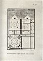 A plan of an Egyptian bath-house. Engraving with aquatint. Wellcome V0020023.jpg