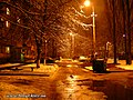 A yard at Liatoshinskiy str. at night - panoramio (1).jpg