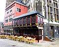 """Aachen – das originelle Restaurant """"Postwagen"""" direkt neben dem Ratskeller Ratskeller - panoramio.jpg"""