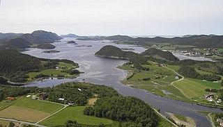 Åfjord Municipality in Trøndelag, Norway