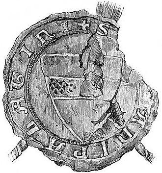 Makján Aba - Seal of Makján Aba, 1286