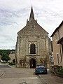 Abbatiale Saint-Benoit de Saint-Benoit, façade.JPG