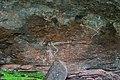 Aboriginal rock art at Nourlangie Rock. (8308703729).jpg