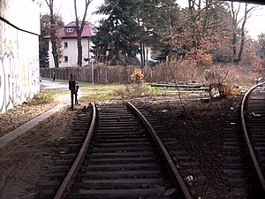 Schöneweide–Spindlersfeld branch line - The former branch line to Spindler factory is now a foot and cycle path